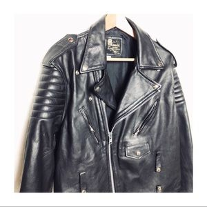 Other - Vintage leather motorcycle jacket